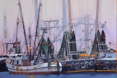 Early Morning Shrimpers, Stock Island